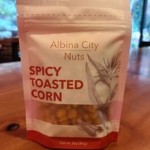 Albina City Nuts - Spicy Toasted Corn